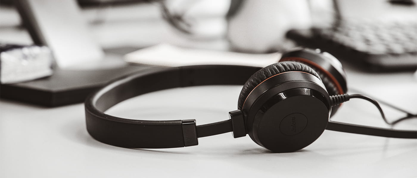 Bild von einem Headset